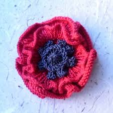 Free Knitting Patterns To Download Fascinating Ravelry Remembrance Poppy To Knit Pattern By Katy Sparrow