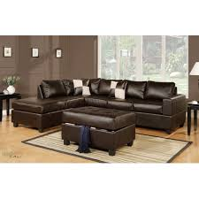 leather sectional couches.  Sectional Urban Cali Sacramento Espresso Eco Leather Sectional Sofa With Reversible  Chaise  Sofas  Best Buy Canada To Couches T