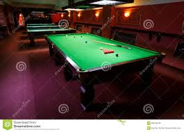 Setting Up A Pool Table Pool Table Set Up For Game Stock Photo Image 66648445