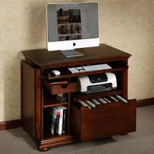 compact office. Photo 5 Of 7 Nice Compact Computer Desk With Printer Regarding Small Shelf Office