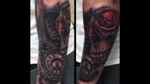 тату карманные часы 100 татуировок с изображением часов