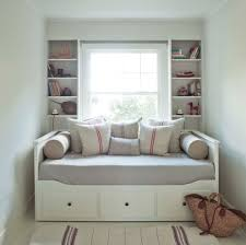 Small Cozy Bedrooms Comfortable Hemnes Daybed For Cozy Bedroom Design Mid Century