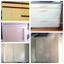 Diy Painted Cabinets Painting Laminatemelamine Kitchen Cabinets