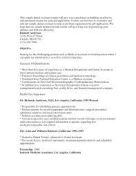 Clinical Assistant Resume Nfcnbarroom Com