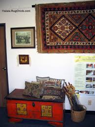 rugs on the wall must also be dusted
