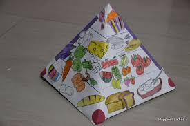 Food Pyramid Project Diy Food Pyramid Model For Kids How To Make 3d Model Of