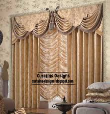unique living room curtain design and erfly valance style