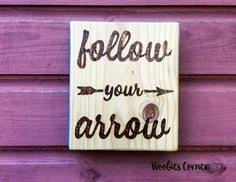 inspirational signs for office. follow your arrow rustic home decor inspirational quotes wood sign sayings motivational signs for office