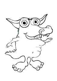 Printable Monster Coloring Pages Coloring Pages Video Games