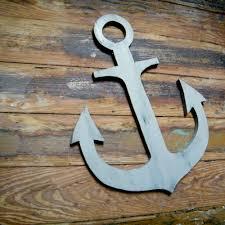 wood anchor wall decor anchor wooden nautical distressed beach coastal lake wall decor sea