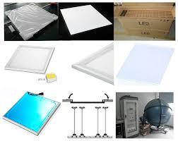 600x600 36w 48w Slim Aluminum Led Panel Light