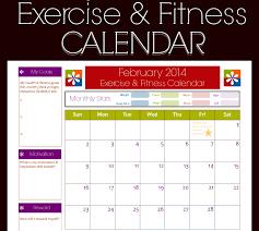 Microsoft Excel Templates 9 Fitness Calendar Excel Templates