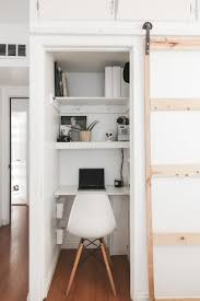 home to office. Fine Office Office In A Closet In Home To Office N