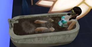 a mud bath in the spa day game pack