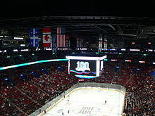 Montreal Canadiens Bell Center Seating Chart Bell Centre Wikipedia