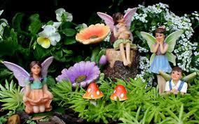 garden figures. Image Is Loading Fairy-Garden-Figures -Miniature-Fairies-Hand-Painted-Outdoor- Garden Figures D