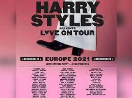Harry Styles postpones 'Love on Tour ...