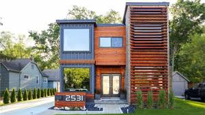 Michigan shipping container home