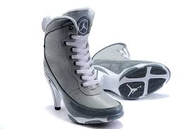 air jordan shoes for girls grey. girls air jordan 9 high heel grey white shoes for