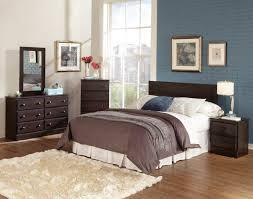 Dark Cherry Wood Bedroom Furniture White Solid Wood Bed Master Bedroom  Suite Furniture
