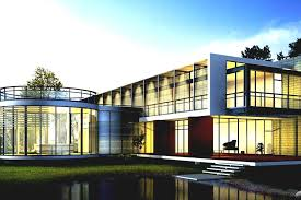 Home Design Great Architecture Houses Design With Green View