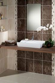 ... Brown Tiles For Bathroom Brown Tiles For Living Room Decorated  Porcelain White Orchid Pattern ...