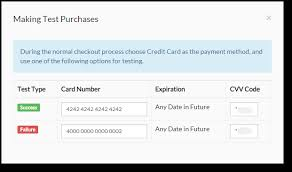 With Card Numbers Credit Expiration And - Cvv Test Date