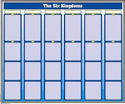 The Six Kingdoms Chart W Cards