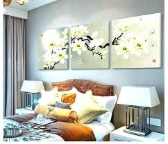 magnolia wall art wall arts magnolia wall art home decor 3 panel modern abstract flower painting