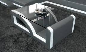 white leather coffee table design living room table round white leather coffee table