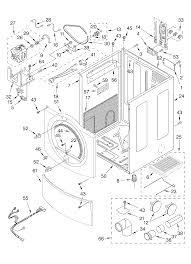 Whirlpool model gew9200ll1 residential dryer genuine parts rh searspartsdirect whirlpool cabrio dryer parts whirlpool dryer parts breakdown