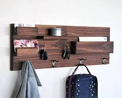 Coat Key Rack Key Rack For Wall Key Rack Mail Holder Wall Mounted Floating Shelf 96
