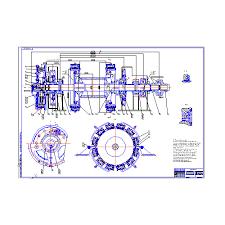 Лебедка ЛБУ К буровая с усовершенствованным тормозом Курсовая  Все разделы Нефтяная промышленность