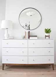 Ikea Hack Nightstand How To Make An Ikea Dresser Look Like A Midcentury Splurge