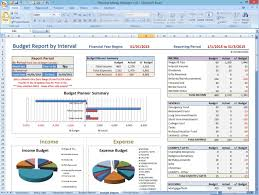 Financial Template For Excel Excel Template Money Management
