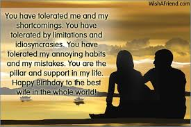 Happy Birthday Wife Quotes Best Birthday Quotes for Wife From Husband mastakillanet