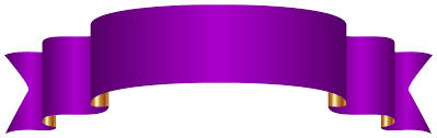 Purple Ribbon Banner Pin By Ostojic Miki On Places To Go Duda Banner Clip Art