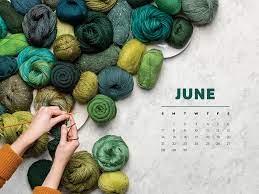 Free Downloadable June 2020 Calendar ...