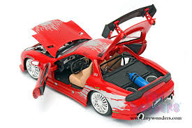 mazda rx7 fast and furious. jada toys fast u0026 furious domu0027s mazda rx7 f8 rx7 and o