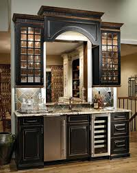kitchens with black distressed cabinets. Painting Kitchen Cabinets Black Distressed Idea For Island And Possibly Built In Kitchens With