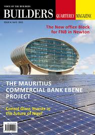 Builders Quarterly Magazine by Winfer Gondwe issuu