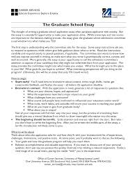 bunch ideas of sample essay for grad school application about bunch ideas of sample essay for grad school application about
