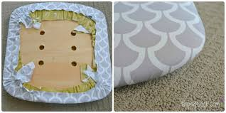 how to recover chair cushions