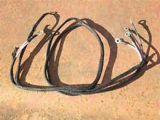 farmall lights antique vintage equipment parts farmall headlight wiring harness super h hv super m mta has ground