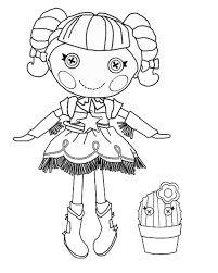 Small Picture Lalaloopsy Coloring Pages GetColoringPagescom