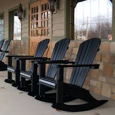 black wicker rocking chairs 9 best outdoor rocking chairs images on in black chair plans black