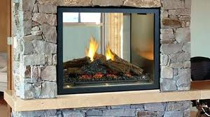 two sided electric fireplaces contemporary 2 way astonishing fireplace inside 12