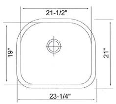 kitchen sink dimensions. Top View Kitchen Sink / Bowl Dimensions