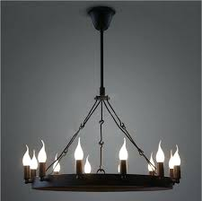 decorating dining rooms restaurant wrought iron chandelier round pendant hanging lamp rustic nz