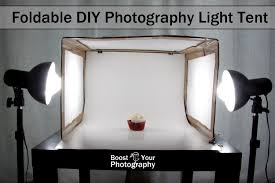 Foldable Light Box Diy Foldable Diy Photography Light Tent Boost Your Photography